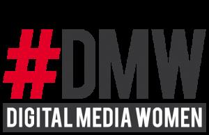 Auf dem Bild ist das Logo der Digital Media Women zu sehen (DMW).