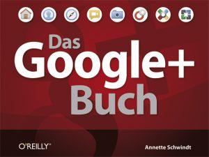 Auf dem Foto ist das Cover des Google+ Buches zu sehen